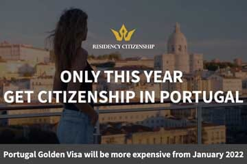 Get citizenship in Portugal 2021